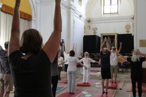 Awakening the body to the energy of Assisi
