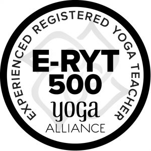 Yoga Alliance Registered E-RYT 500