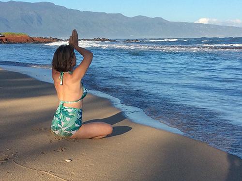 Viniyoga online classes - Mirka Kraftsow yoga therapy, meditation