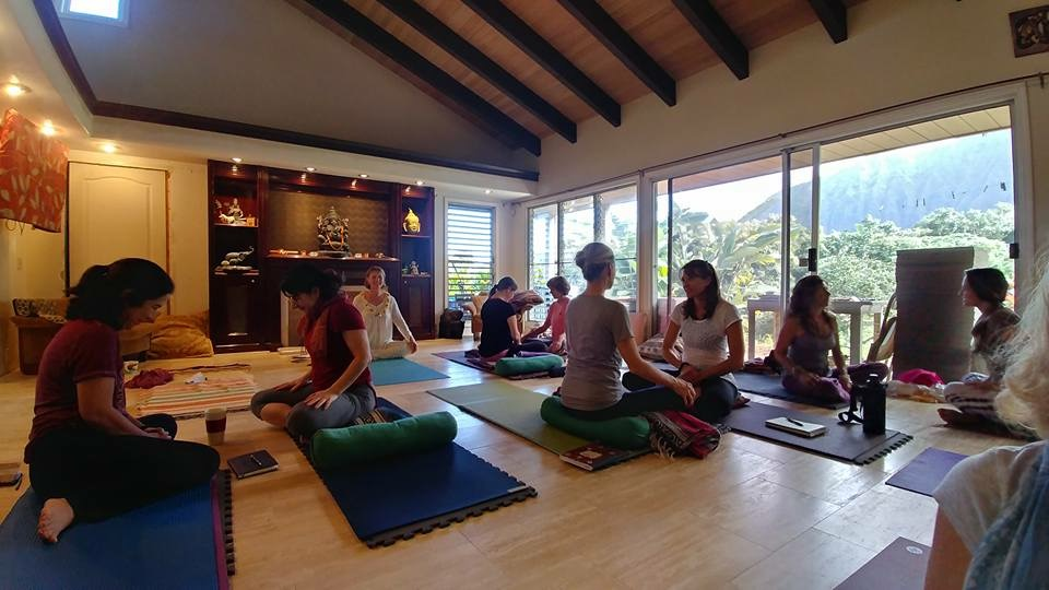 Viniyoga Yoga Retreat, Maui, Hawaii, Mirka Kraftsow
